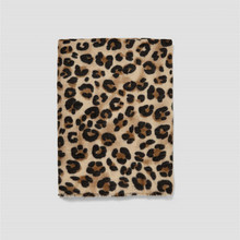 [Lakysilk]Women Leopard Cashmere Luxury Brand Scarf Top Quality Warm Print Scarves Shawls Ladies Long Winter Pashmina Poncho(China)