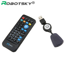 USB Media IR Wireless Mouse Remote Control Controller USB Receiver For Loptop PC Computer Center Windows Xp Vista