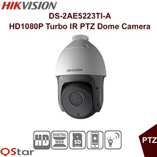 Hikvision Original English Version DS-2AE5223TI-A HD1080P Turbo IR PTZ Dome Camera Up to 150m IR distance CCTV Camera