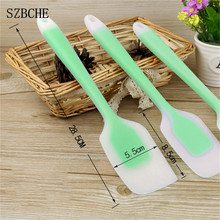 kitchen Cooking Tools For  Cake Double Silicone Scraper Scraper Scrub Pastry Cooker Buttter Ice Cream Spoon cooking tools