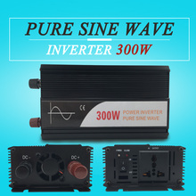 hot sale power inverter 300W 12v 24v 48v dc to ac 110v 120v 220v pure sine wave off grid for home use
