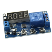 12V Digital LED Automation Delay Timer Control Switch Relay Module Display New #S018Y# High Quality