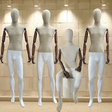 New Style Male Mannequin Fashionable Style Full Body Mannequin With Flexible Wooden Hand Hot Sale