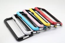 New phone case frame S5 Mini soft TPU silicone bumper for SAMSUNG galaxy S5 mini,retail & wholesale