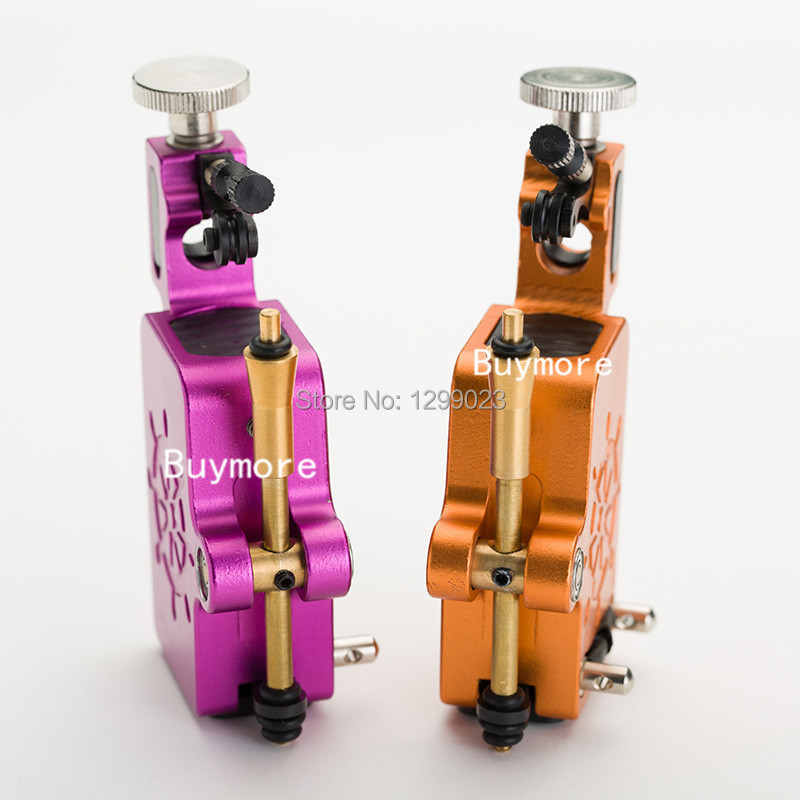 2014  Newest 2pcs Captain Rotary machine gun shader &amp;liner Tattoo motor kits supply needle for artist free shipping<br>