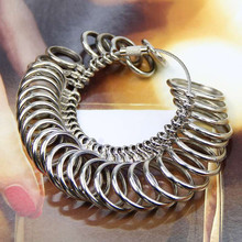 KUNIU  High Quality 1pc Standard Jewelry Tool Size Finger Ring Sizer Ring High Quality Measure Gauge Wholesale