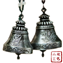 Hot Sale  One Pair Wind Bells Metal Chimes 3 Colors House Decoration Metal  Arts And Crafts Chinese Bells