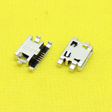 Micro USB Jack USB Connector Charge Socket 5P 5Pin without Edge Crul Square Mouth for Mobile Phone Tablet PC