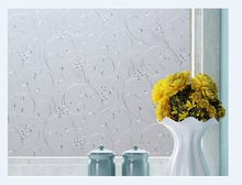 printing Iron Flower frosted frosted plastic foil static-free bathroom balcony windows opaque glass paste stickers sunscreen(China)