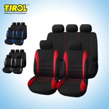 2016 hot sale fashion New Car Seat Covers Red Set for Auto w/Steering Wheel/Belt Pad/Head Rests 9 part very good