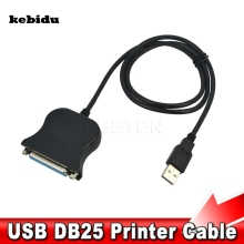 kebidu USB to 25 Pin DB25 Female Parallel Port Print Converter IEEE 1284 1 Mbps Cable Adapter for Printer for Computer PC Laptop(China)