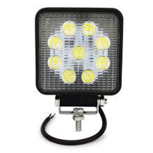 4inch 27w led work light flood spot near far led work lamp for Tractor Boat Off-Road 4WD 4x4 led light work driving light