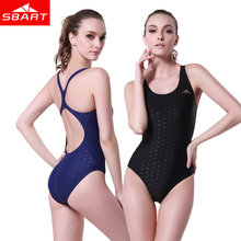 Buy SBART Sport Swimsuit Women Backless Monokini Professional Swimwear Sports Pool Training Body Suits One Piece Swimsuit 4XL for $26.80 in AliExpress store