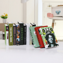 10PCS Modern minimalist Fake Book coffee shop decoration home bookcase desktop photography props Book simulation(China)
