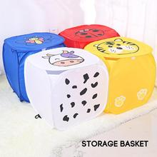 Foldable Dirty Clothes Laundry Basket Clothes Storage Baskets Mesh Washing Portable Underwear Sundries Organizer Toys Container(China)