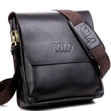 Men's Crossbody Bags Quality Male Messenger Bag on over His Shoulder PU Leather Men Handbag Travel Fashion Business Work Bag VP1(China)