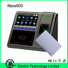 Biometric Iface503 face & fingerprint & ID card time attendance and access control TCP/IP facial recognition time recording(Hong Kong)