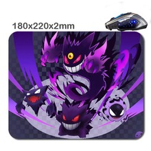 180*220*2mm mega gengar New Arrivals Customized Rectangle Non- Slip Rubber Printing Large Gaming Mouse Pad As Luxury gifts