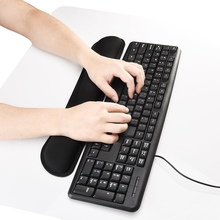 Silicon Mouse Wrist Rest Support Memory Foam Keyboard Wrist Rest Pad Soft Handguard Mouse Pad for Computer Laptop Gamer