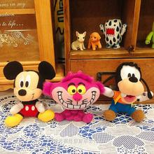 Original Special Cartoon Mini Vintage Goofy Dog Cute Soft Stuff Animal Plush Toy Birthday Gift 10cm Collection
