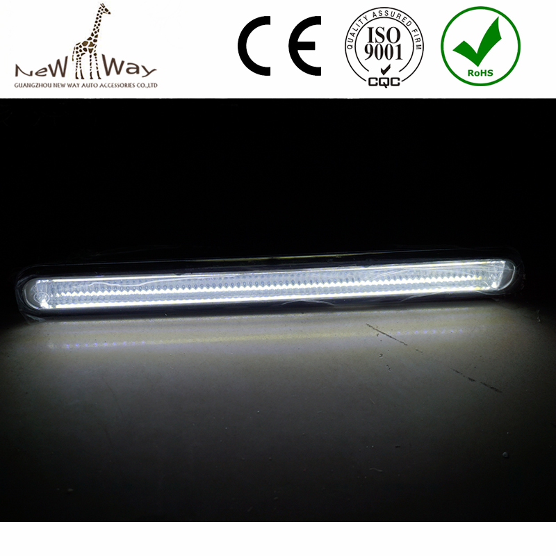 Wholesale 1pair 20cm Ultra-thin 12W COB LED Daytime Running Light LED DIY DRL Fog car lights with Protective tube and Stents<br><br>Aliexpress