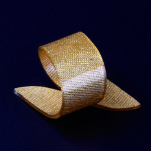 Free Shipping 12 X Golden/Silver Acrylic Napkin Rings Beauty Special Irregular Plastic Napkin Holder For Wedding  Hotel