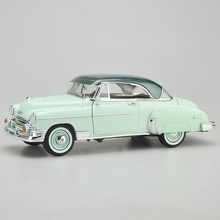 1:18 alloy 1950 CHEVY BEL AIR Chevrolet high simulation car model, metal diecast,coasting,children's toy vehicles, free shipping