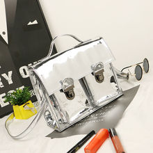 Korean Fashion Silver Mirror Bag For Women Handbags Casual Tote Crossbody Bag Sequined Solid Shoulder Bags Mirror Sacs De Femmes