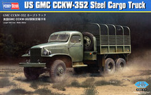 Hobby Boss 1/35 scale tank models 83831 GMC CCKW-352 ten-wheel hardtop 2.5-ton truck(China)