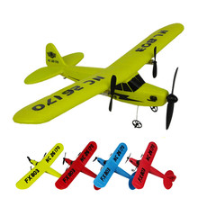 Buy Remote Control RC Helicopter Plane Glider EPP foam 2CH 2.4G Toys for $27.96 in AliExpress store