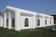 best quality whitemarquee inflatable wedding tent,inflatable tent for party with led light