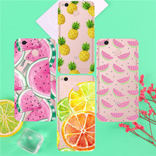 Phone Case For Xiaomi Redmi 3 3S 4A 4X 4 4S Note 3 4 4X 5A Case Back cover Orange pineapple watermelon(China)
