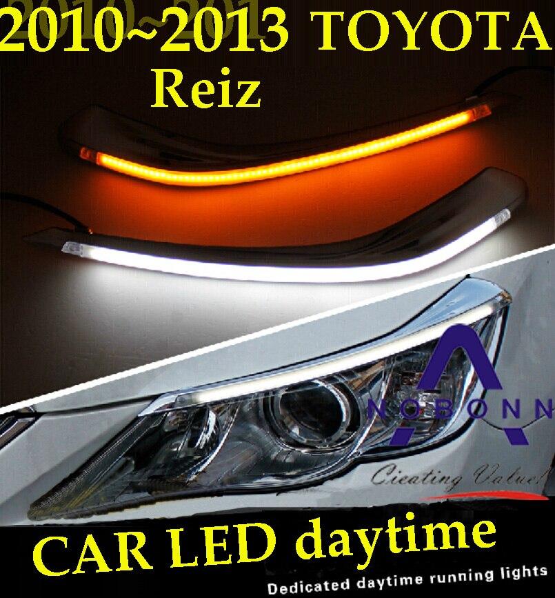 Reiz daytime light,2010~2013,Free ship!LED,Reiz fog light,hilux,Reiz,prado,camry,Vigo<br>