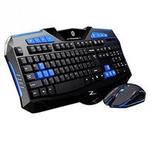 Wireless Pro Gaming Keyboard Mouse Combos Full Key Professional Mouse Keyboard Set For pc Laptop(China)