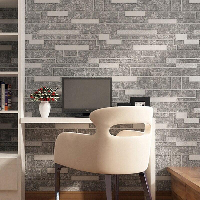 Vintage Simple Elegant PVC Vinyl Embossed Wallpaper For Wall Waterproof Brick Stone Wall Paper Roll Living Room Bedroom Backdrop<br><br>Aliexpress