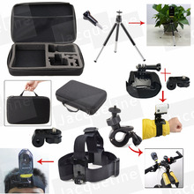 Kit Accessory Waterproof Case Bag Head Wrist Strap Mount Holder for Sony HDR-AS15 HDR-AS30V HDR-AS100V AS50 HDR-AS20 Action Cam