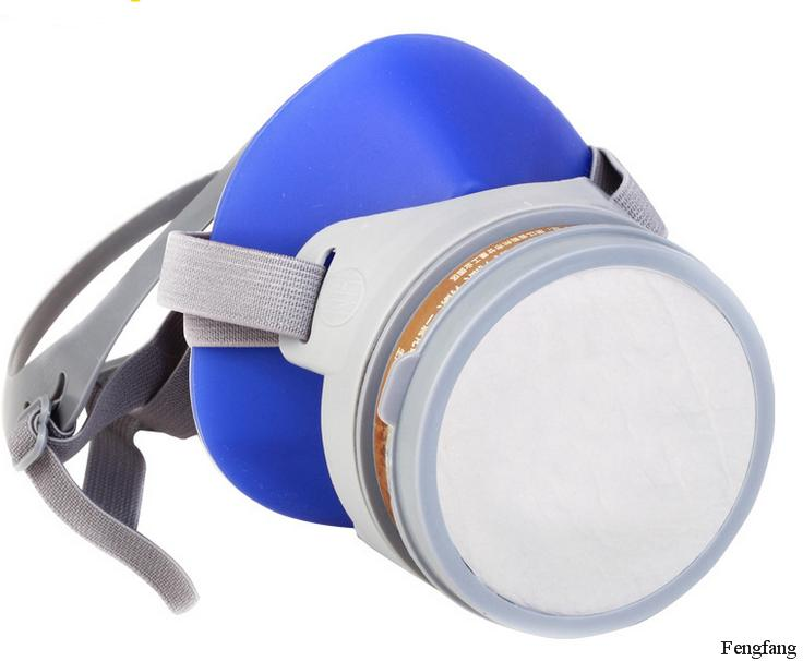 Goods respirator quality dust mask Silicone blue dust mask dust smoke KN95 safety dust mask Free shipping<br><br>Aliexpress