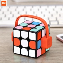 Buy Xiaomi GiiKER Super Magic Cube APP Real-time Sync Interactive Tutorial Support Games Smart Learning Playing Bluetooth Fun for $29.99 in AliExpress store
