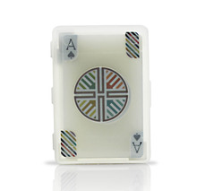 Free Shipping 1Set Waterproof Invisible Playing Card PVC Modern Design Coupled With Waterproof Plastic Card Novelty Gift