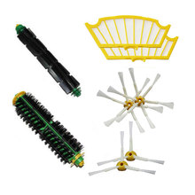 Bristle Flexible Beater Brush For Irobot Roomba 500 Series 510 520 530 535 540 550 560 570 580 Side Brush Filter New