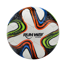 Seamless professional soccer ball standard size 5 PU leather training football for children adults high quality