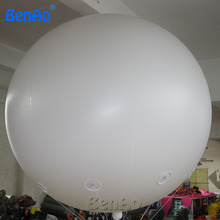 AO058B  2M white PVC helium balioon,inflatable sphere/sky balloon for sale, attractive inflatable funny helium printing air ball