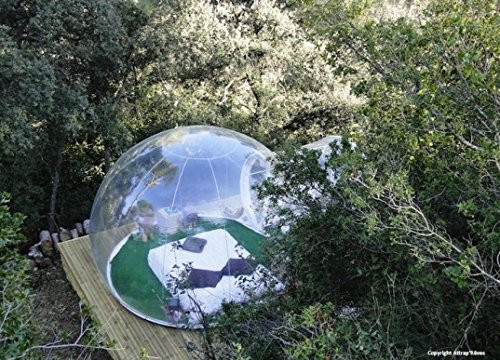Watch scenery Transparent inflatable lawn bubble tent,bubble camping equipment inflatable beach tent,Inflatable wedding Tent 05
