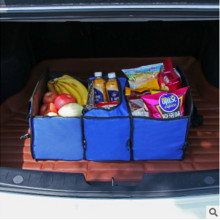 Car Back Folding Storage Box Vehicle bag For VW Passat B6 B7 CC Golf 6 7 Jetta MK5 MK6 Tiguan Scirocco golf 4 mk4 touran caddy