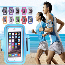 Factory price hot selling outdoor sport mobile phone case arm belt running cell phone case