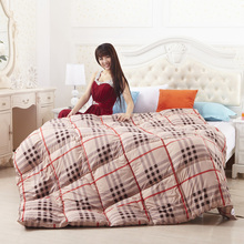 95% goose down comforter double quilted Blanket Quilt Pink color bedding Filler/Filling King Queen twin size Duvet super warm