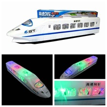 Brinquedos Oyuncak Hot Models Children's Toys Chinese High-speed Rail Model Electric Simulation Harmony Crh Train Babyshining(China)