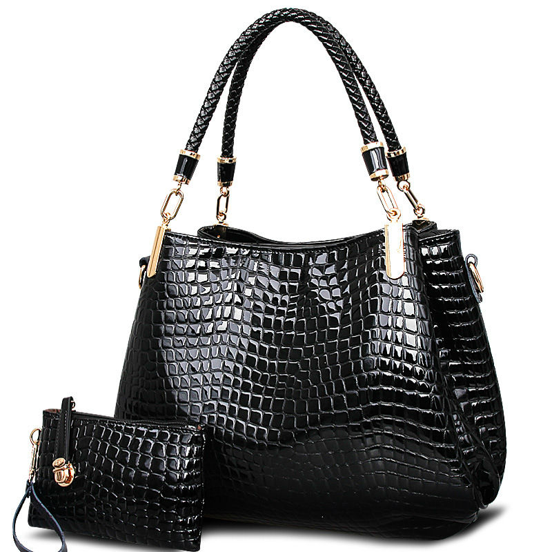 2018 Hot Sale Luxury Handbags Women Bags Designer Alligator Patent Leather Handbag Tote Single Shoulder Crossbody Messenger Bag <br>