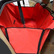 LS4G Pet Dog Car Seat Cover for Rear Bench Seat Waterproof Hammock Style Outdoor Car Seat Cover for Dogs(China)