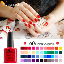 #61508 CANNI Output Gel Nail Polish VENALISA Nail Gel Manufactures Soak Off 7.5ML DIY Nail Art Gel Nail Polish(China)